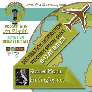 Rachel Martin, Jen Reyneri's special guest