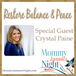 Mommy Jammies Night – Crystal Paine