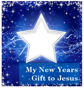 New Years Gift to Jesus