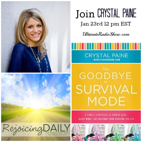 Rejoicing Daily with Crystal Paine
