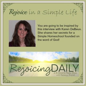 Rejoice In a Simple Life