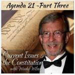 Current Issues – Agenda 21- Part Three