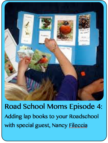 Roadschooling with Lap Books