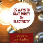 25-Tips to Save Money on Your Electricity