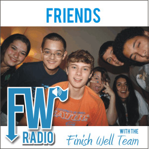 Finish Well Radio Show, Podcast #004, Friends with Meredith Curtis on the Ultimate Homeschool Radio Network