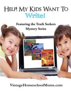 kids want to write