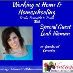 Vintage HS Moms – WAHM with Leah Nieman