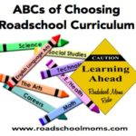 How to Choose a Homeschool / Roadschool Curriculum