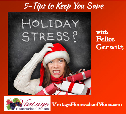 HolidayFreakOut_TipsToKeepYouSane_VintageHomeschoolMoms