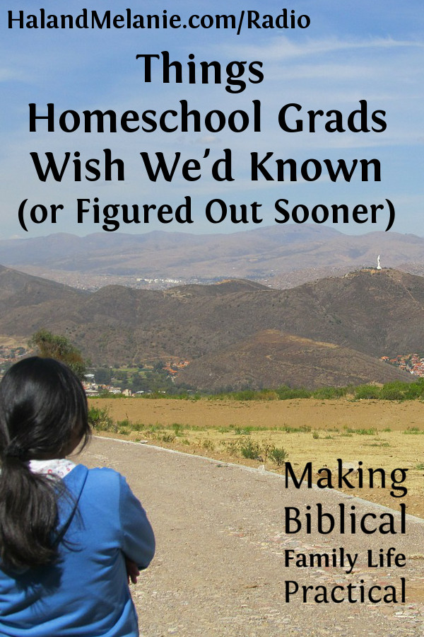 MBFLP - Things Homeschool Grads Wish We'd Known