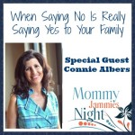 Mommy Jammies Night ~ Connie Albers