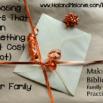 MBFLP – Choosing Meaningful Gifts for the Family