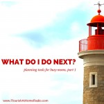 What Do I Do Next? Planning Tools, Part 1 – FAH episode 12
