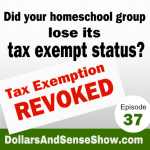 Has Your Homeschool Group Lost Its Tax Exempt Status?