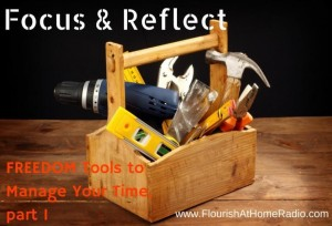 Focus & Reflect, FREEDOM Tools part 1
