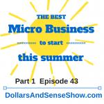 Start a Business This Summer Part 1 Episode 43