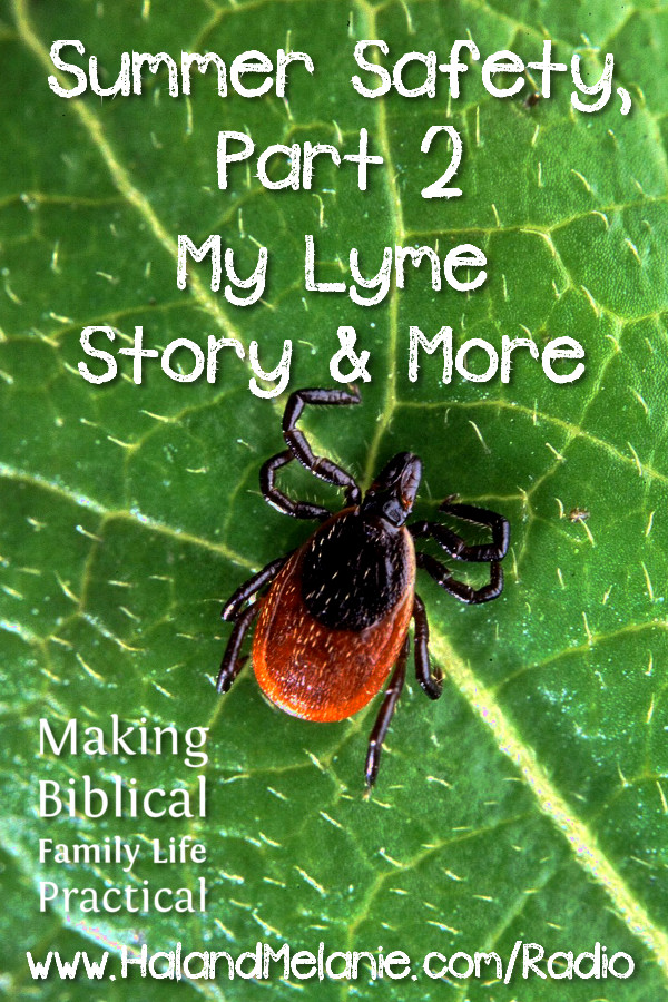 MBFLP - Summer Safety Part 2 Ticks Lyme Disease More