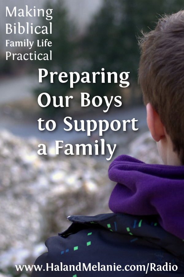 Preparing Boys to Support a Family