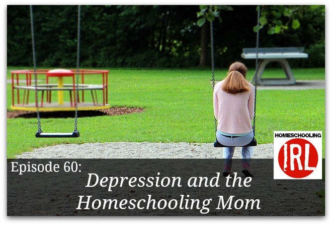 Free podcast dealing with the issue of depression and homeschooling moms
