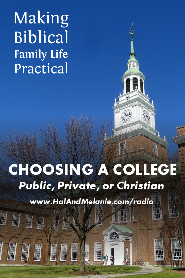 Choosing A College - FB