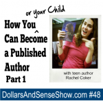 How You (or Your Child) Can Become a Published Author