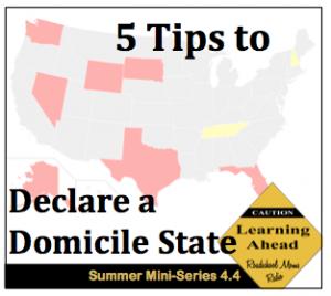 Domicile State Show Button