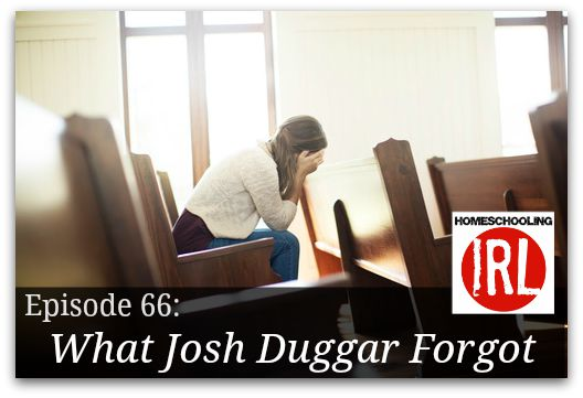 Free homeschool podcast about homeschool leaders who fall and fail to remember the gospel.