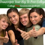 transcripts - key to free college