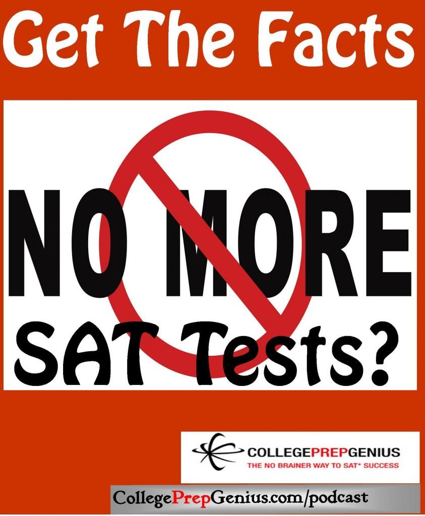 no more SAT tests