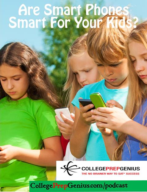 are smart phones good for your kids, are cell phones good for kids, smart phones and kids