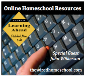 Wired Homeschool Show Button