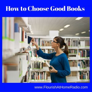How to Choose Good Books