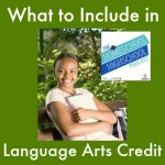 HSHSP 13: What to Include in Language Arts Credit