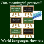 World Languages How-to's