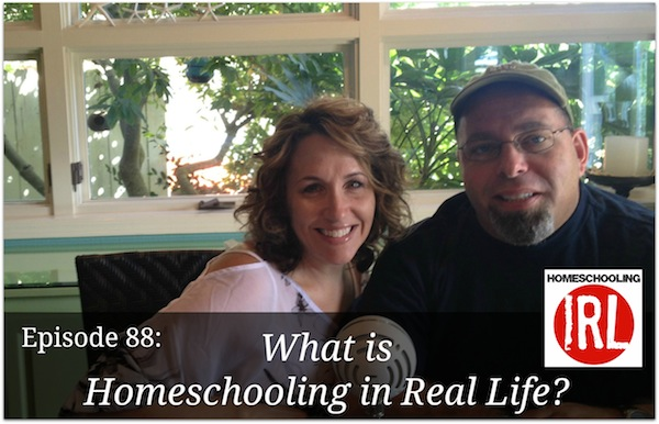 Free homeschool podcast about living a real life.