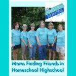 HSHSP Ep 84 Moms Finding Friends When Homeschooling Highschool