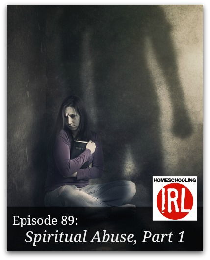 Free homeschool podcast about spiritual abuse and recovery.