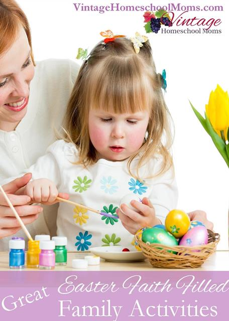Easter faith filled family activities