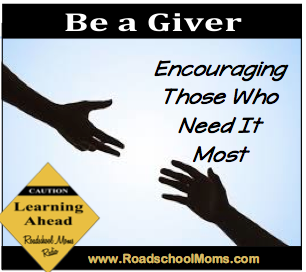 Be a Giver Encouragement