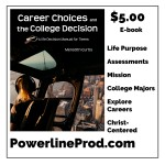 Career Choices College Decision