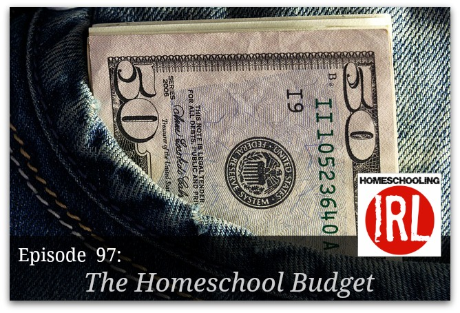 Free homeschool podcast about budgeting finances for homeschooling.