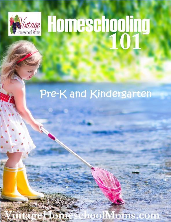 homeschooling 101 Pre-K and Kindergarten