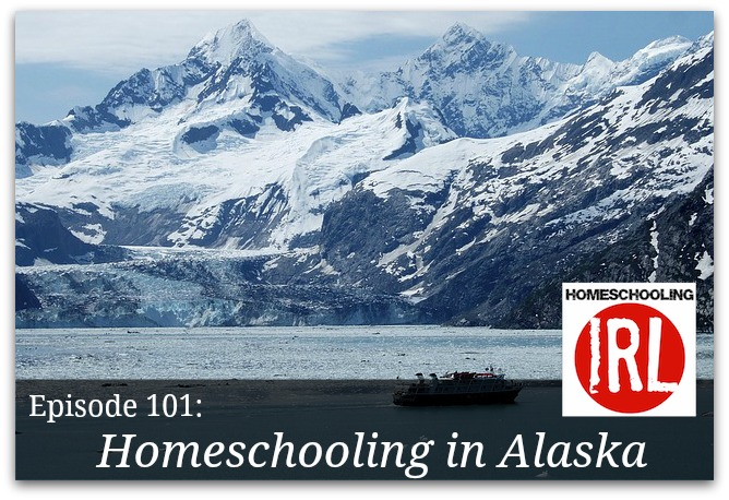 Free homeschooling podcast about homeschooling on the road in Alaska.