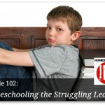 Free homeschool podcast about struggling learners