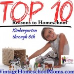 Top 10 Reasons To Homeschool K-6