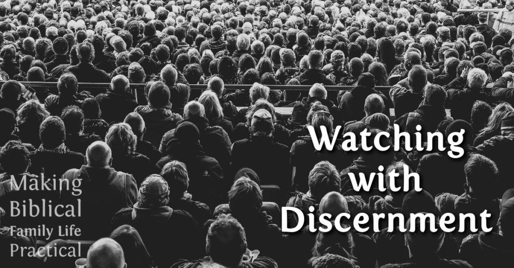 MBFLP 133 - Watching With Discernment - H