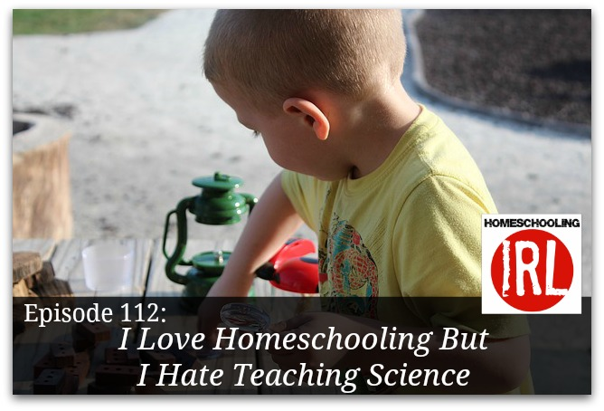 Free homeschool podcast about teaching science.