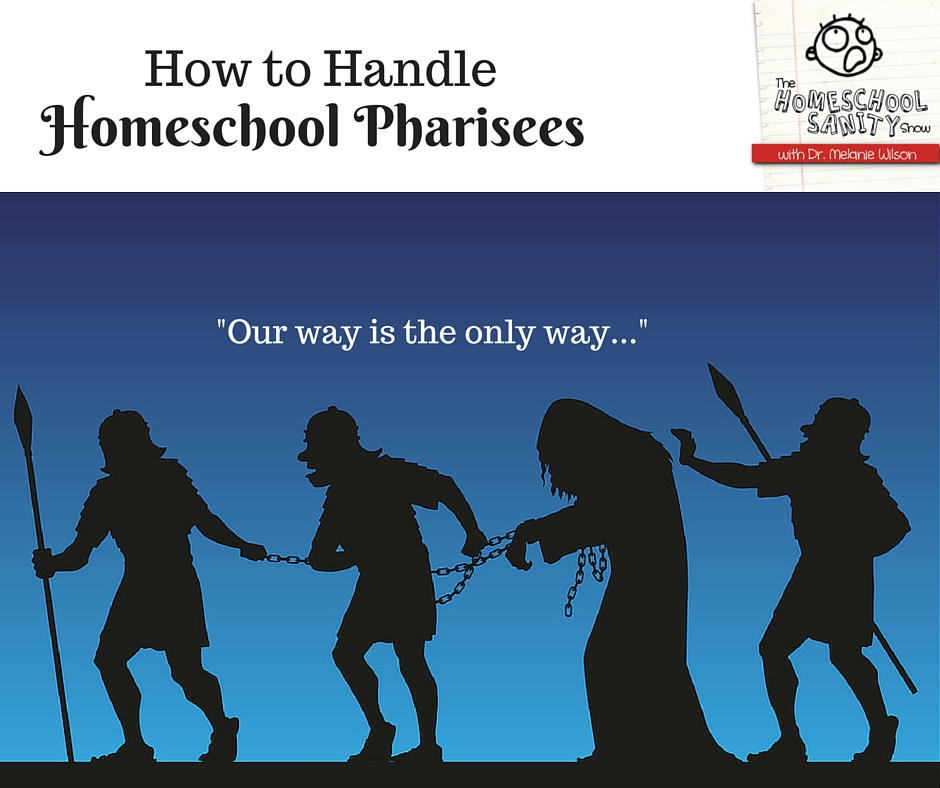 How to Handle Homeschool Pharisees