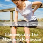 sprains, strains and breaks
