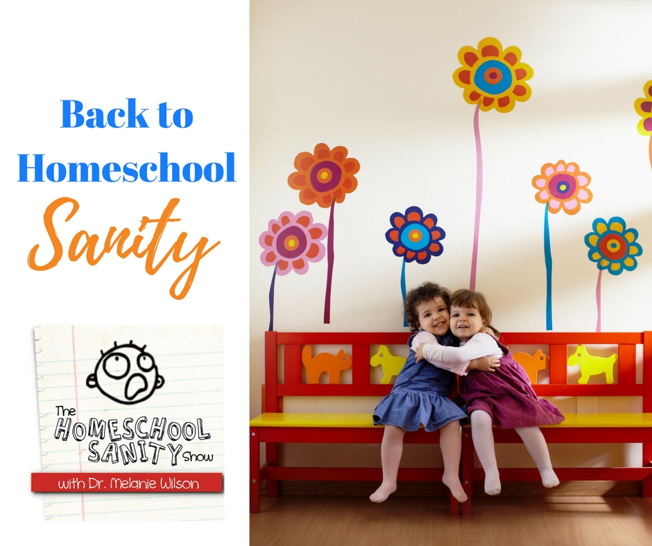 Back to Homeschool Sanity: The Homeschool Sanity Show Podcast